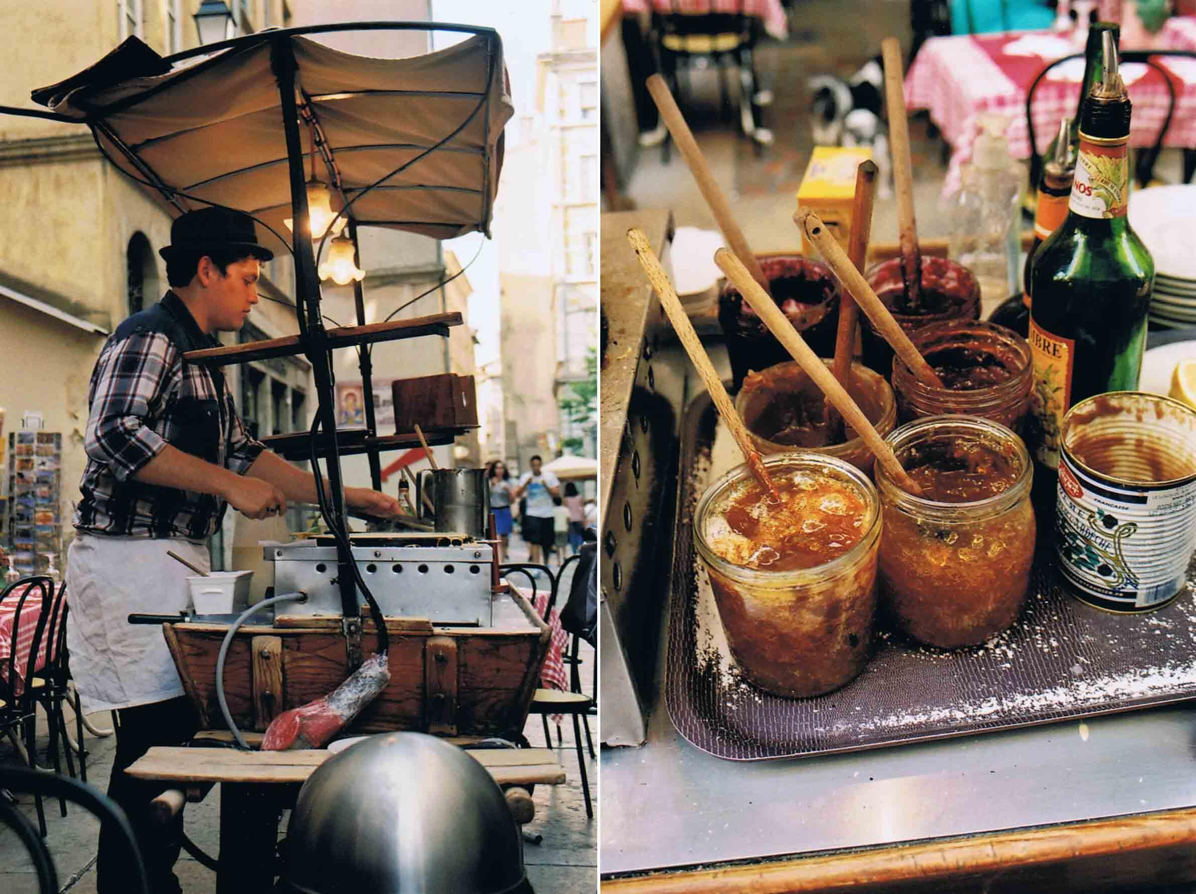 Crepe frz spezialität Lyon Street Food