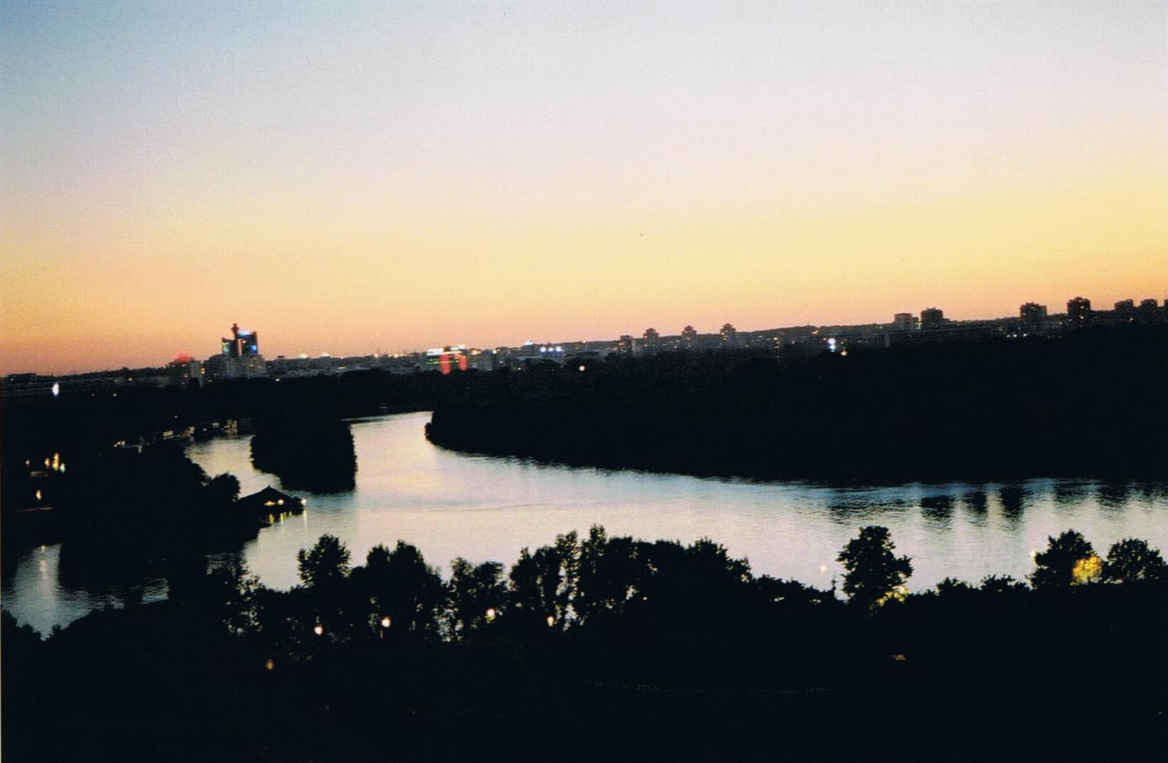 Belgrad Beograd_usce_Muendung