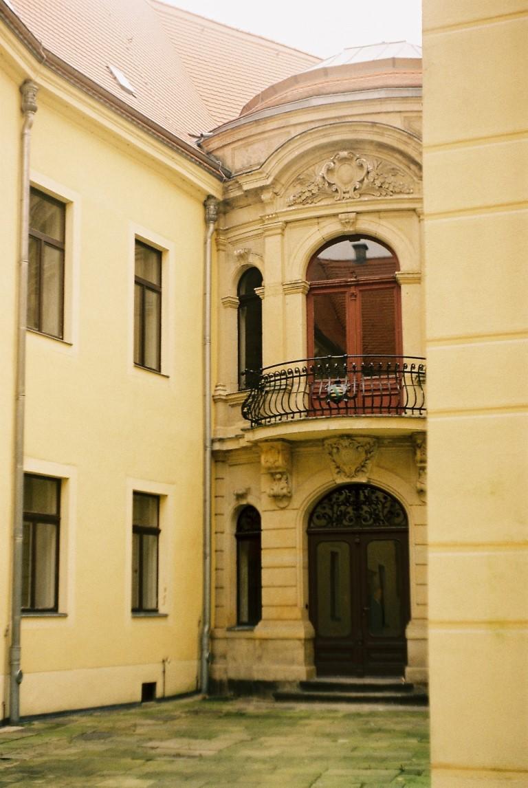 Schloss Hirschstein Innenhof