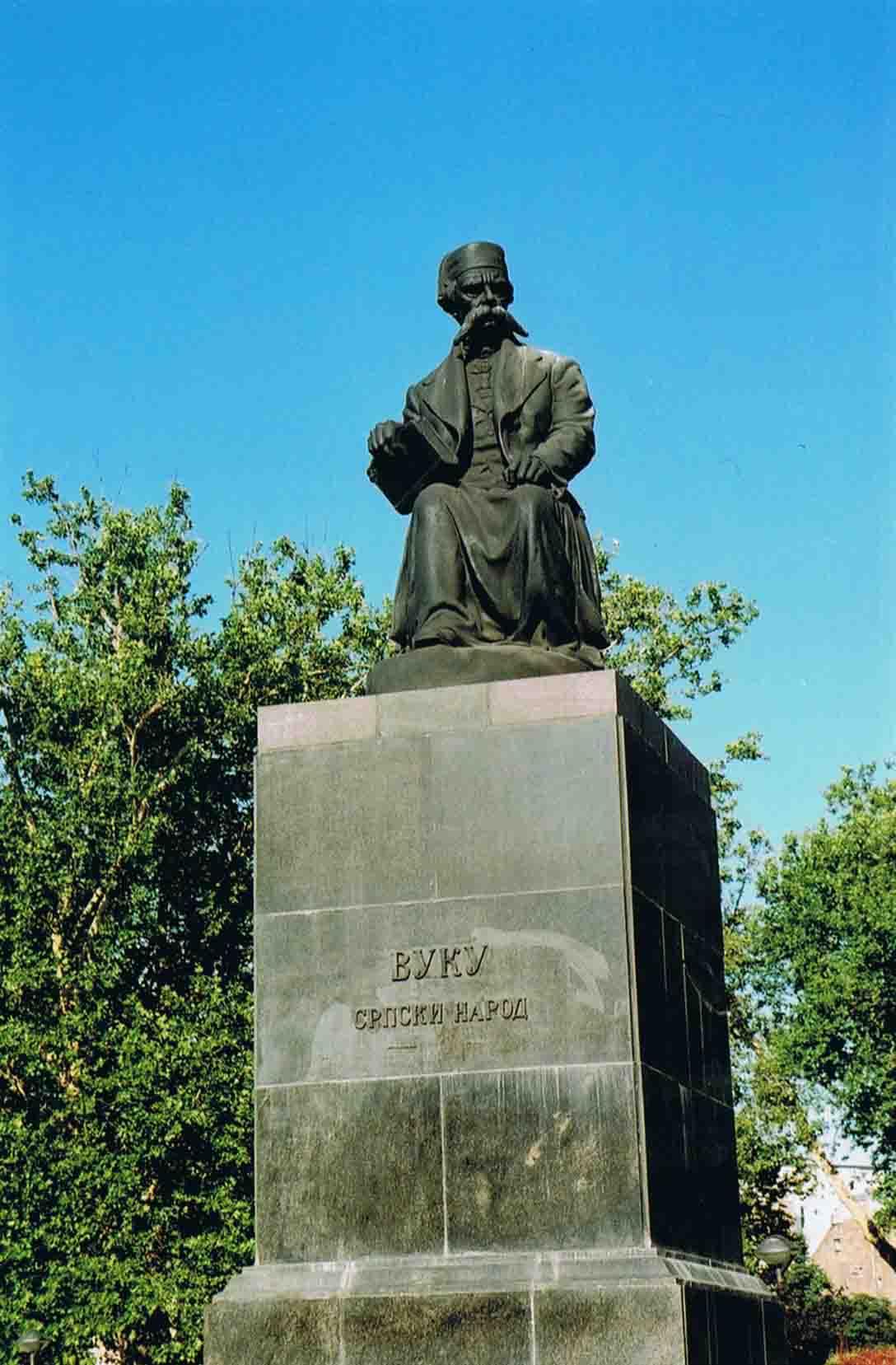 spomenik vuk karadzic_beograd