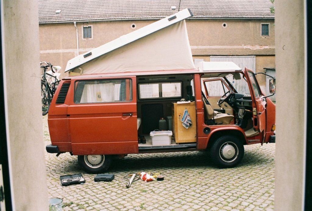 VW T3 Zeltdach Reisevorbereitung