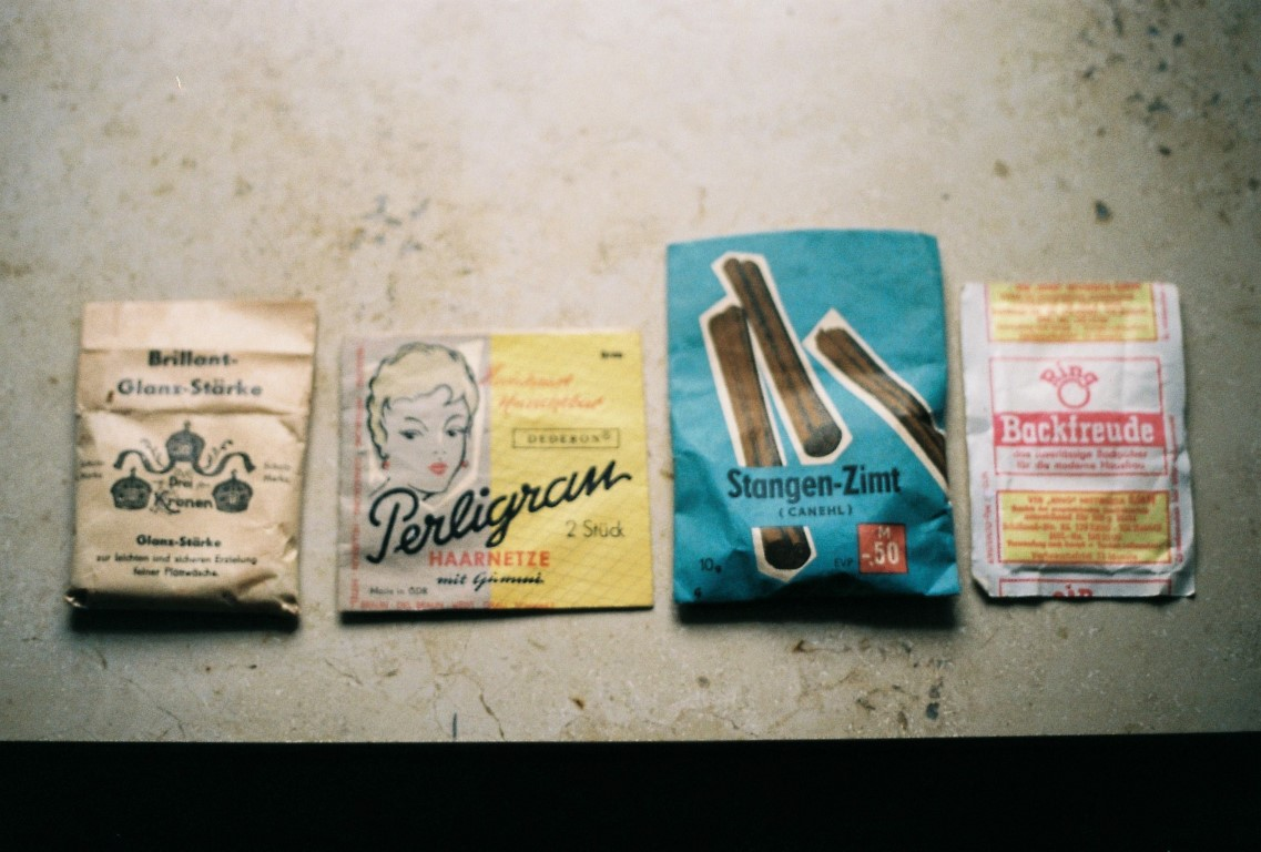 29 Fundstücke vintage Verpackungen