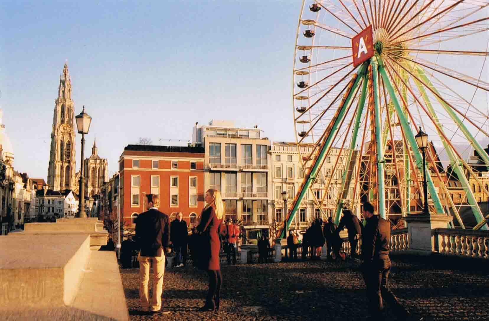Antwerpen Schelde Belgien