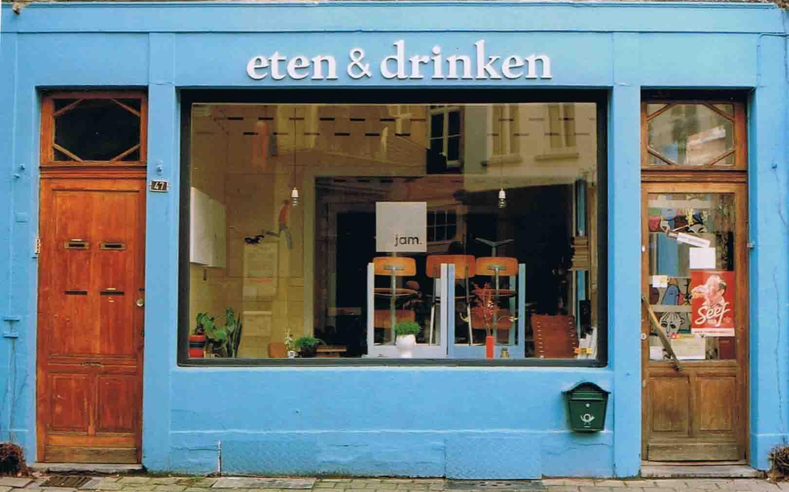 Belgien Antwerpen Restorant jam.