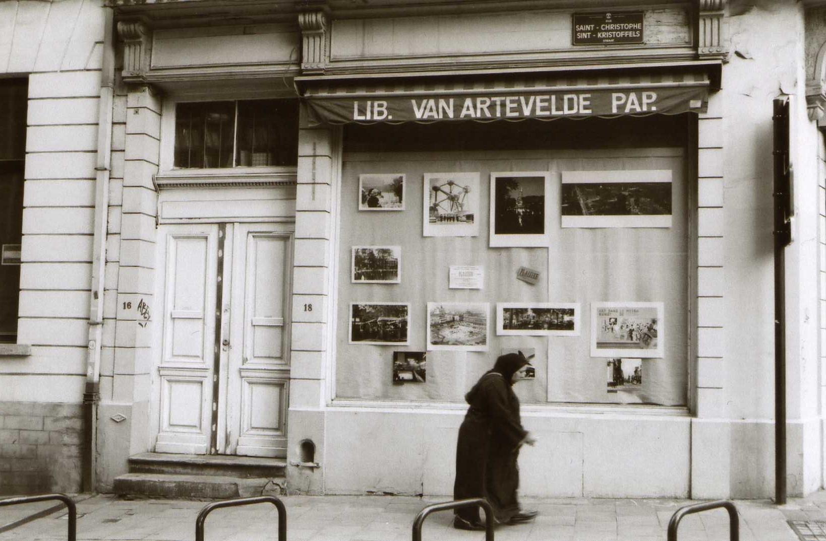 Brussel Lib. Van Artevelde Pap.