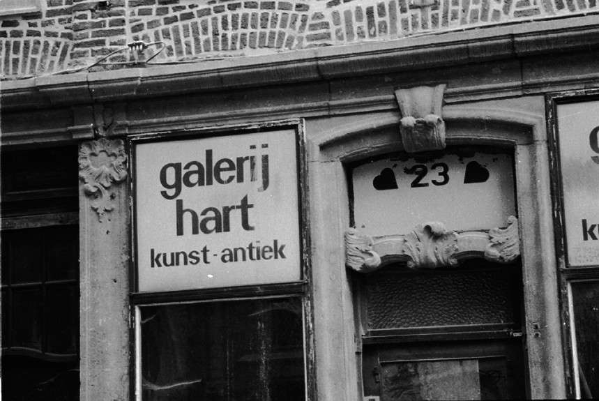 Leuven Belgien agfa apx 100 galerie hart Naamsestraat