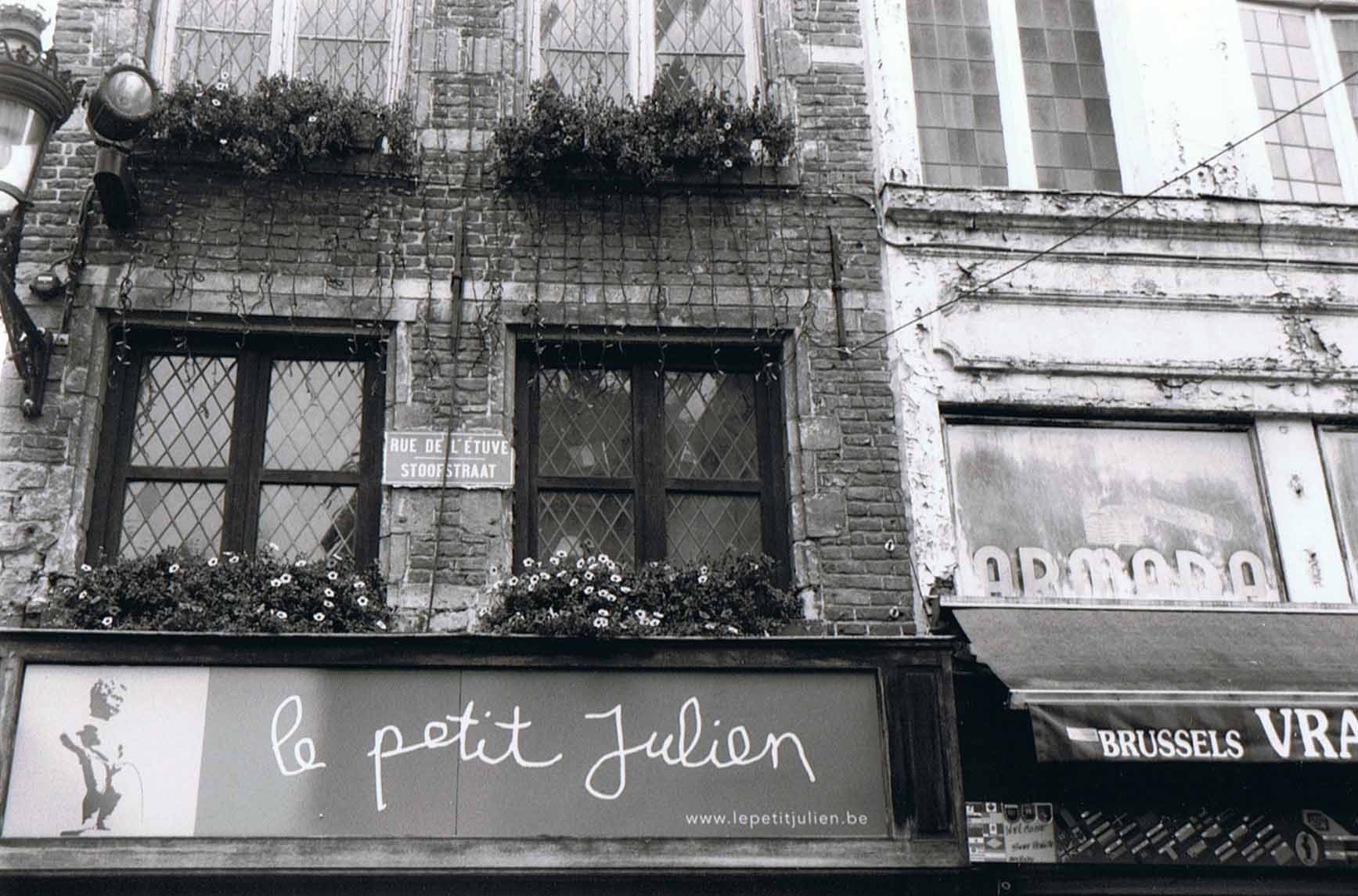 Manneken Pis - le Petit Julien Bruessel