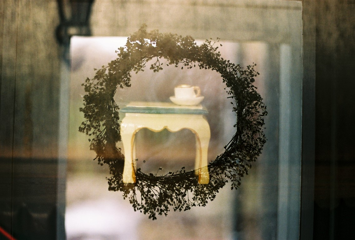 Blumenkranz double exposure film photography