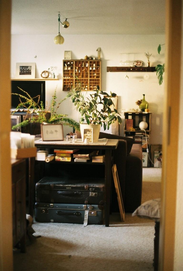 Wohnzimmer film photography
