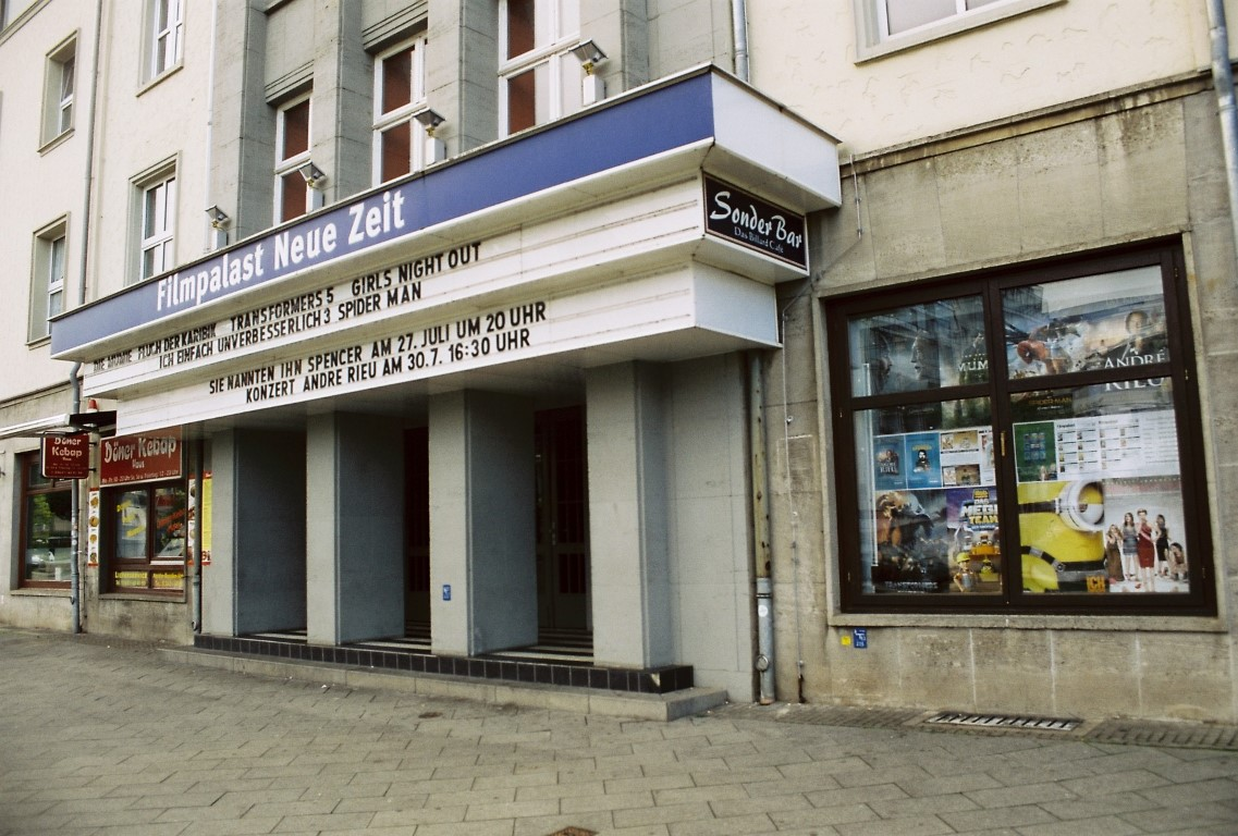 Nordhausen Filmpalast Neue Zeit Cinestill 50