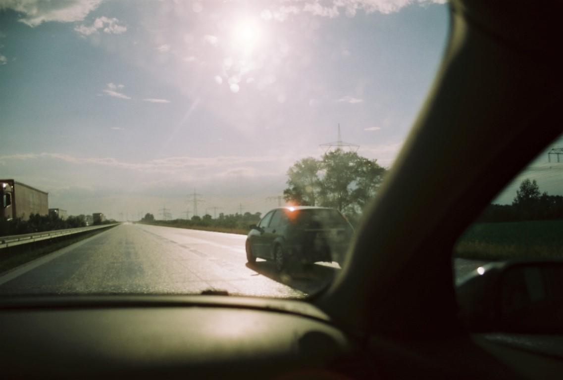on the road Cinestill 50