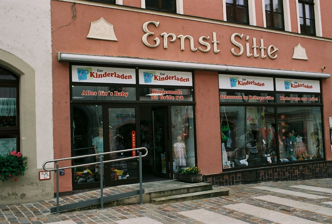 Ernst Sitte Torgau urban typography