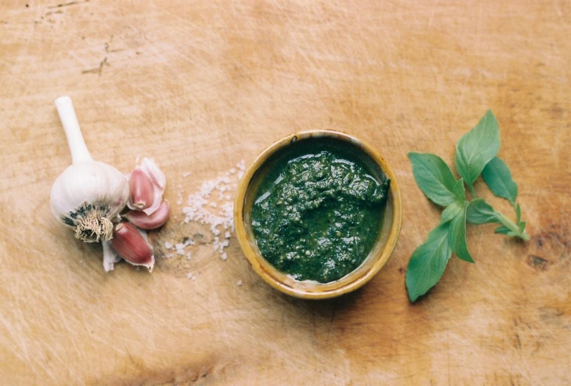 Pesto alla Genovese Basilikumpesto Rezept