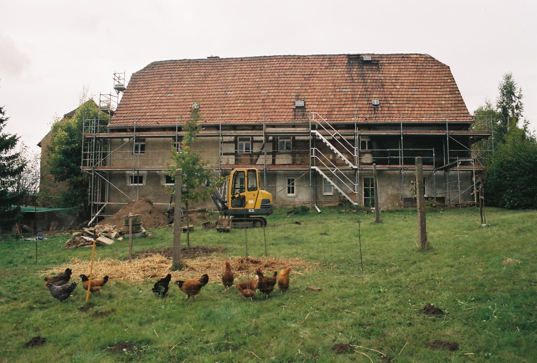 Dauerbaustelle Sanierung Fachwerkhaus
