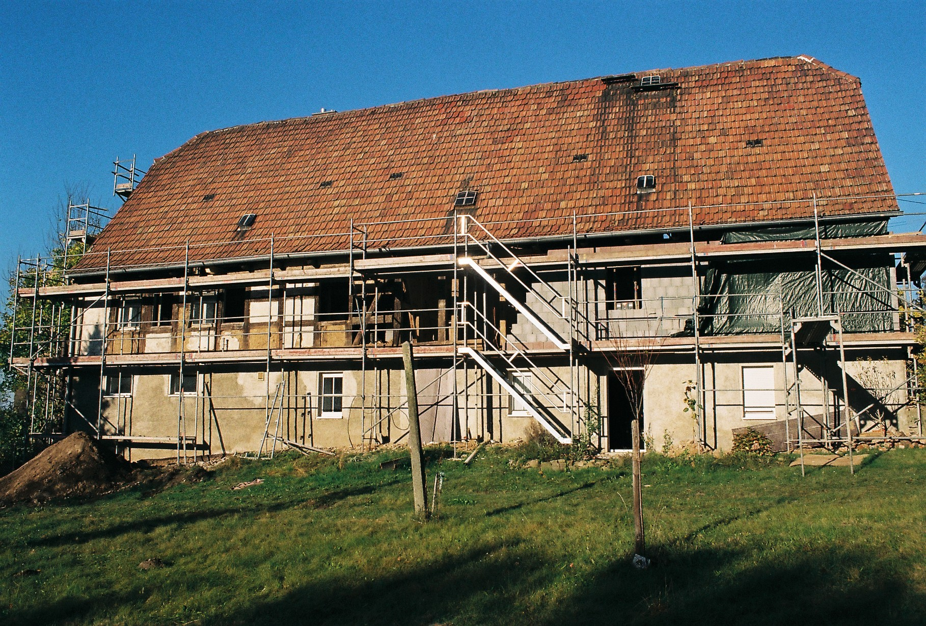 Sanierung Fachwerkhaus Wohnhaus