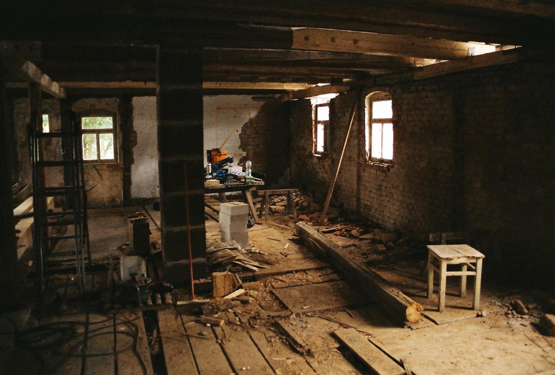 Umbau Fachwerkhaus
