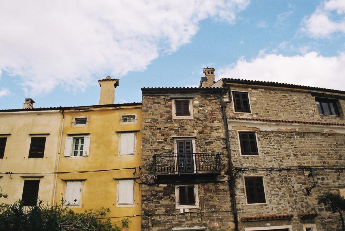 2019 Piran old houses