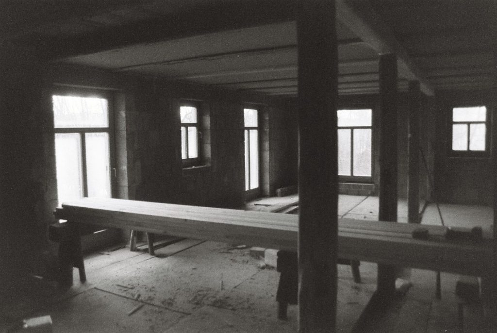 Sanierung Vierseithof Bauernhaus Dauerbaustelle