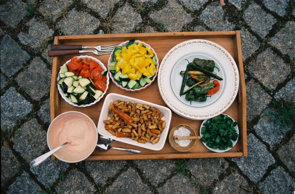 Abendessen, Sommer