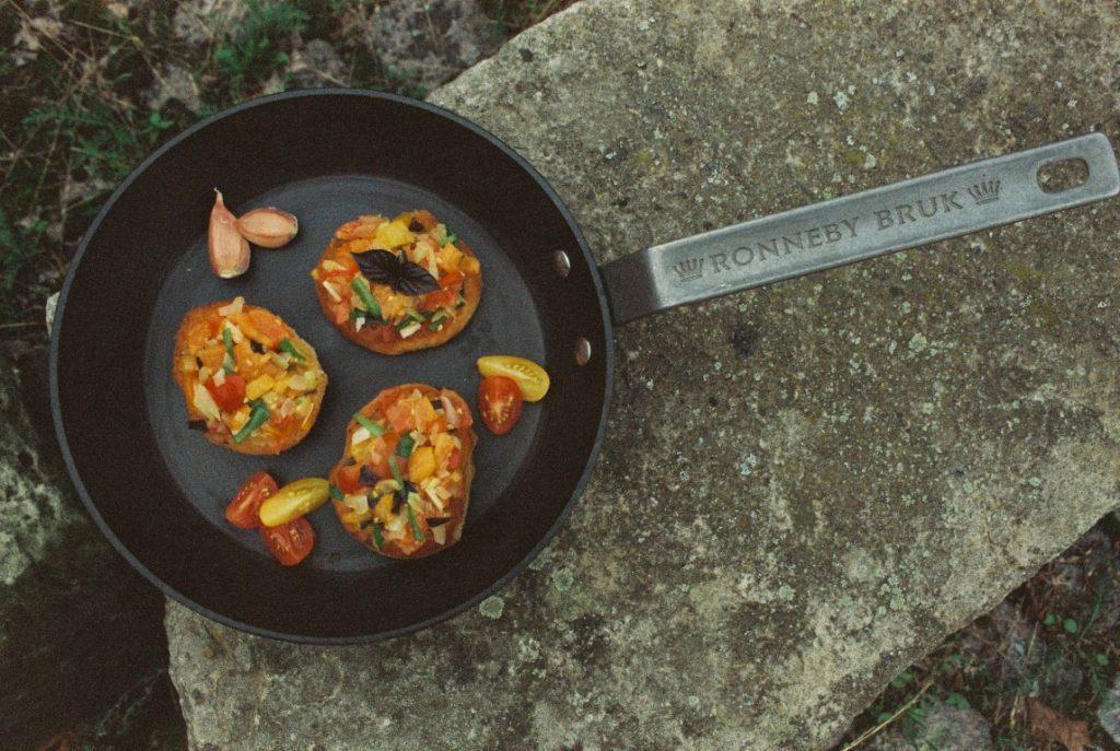 bruschetta mit Knoblauch